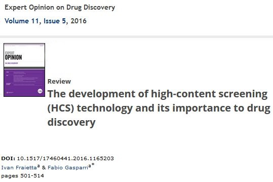 Expert Opinion on Drug Discovery - Fraietta