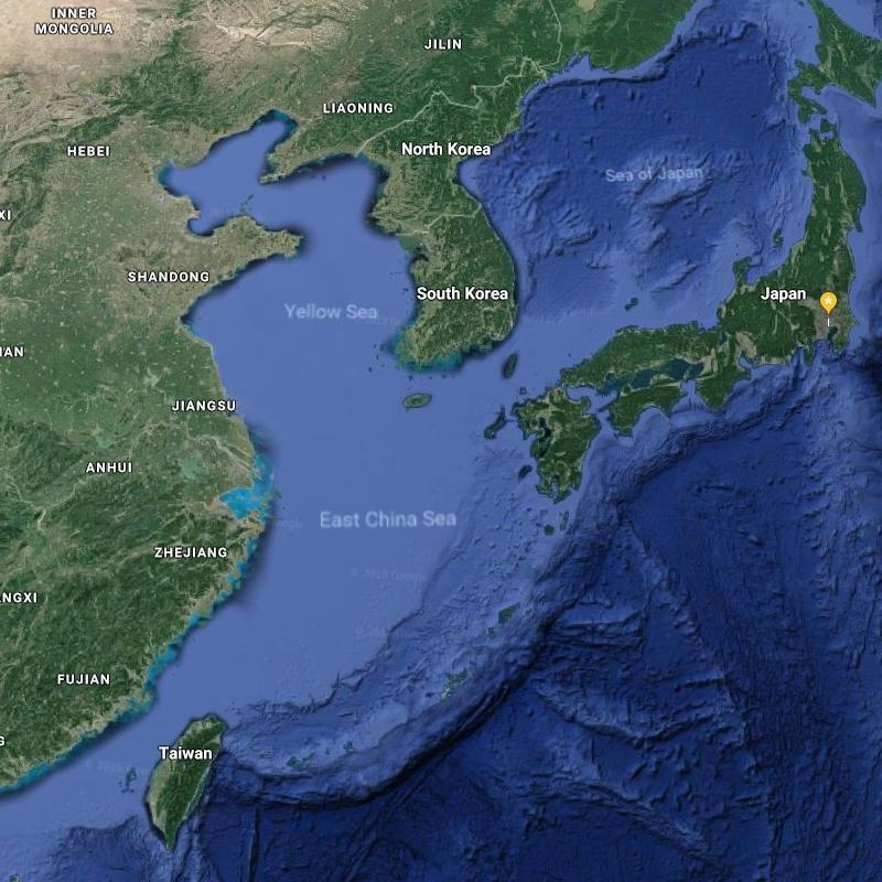 Japan and Taiwan